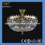 Hot Sale Crystal Bronze Decoration Light Chandelier (MD075)
