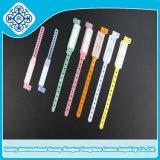 Wristband/bracelete paciente para o uso médico de várias cores