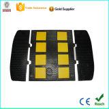 Schwarzer und gelber Gummigeschwindigkeits-Begrenzer mit niedrigem Fabrik-Preis
