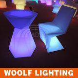 多く300のデザインLED照明家具新しいデザインLED夕食の椅子
