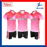 Healong Fabrik-Preis-Form-Sublimat-Tischtennis Jersey