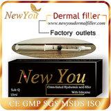 Nuevo usted llenador cutáneo profundo perfecto del ácido hialurónico 2ml de la fuente para la arruga anti