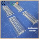 水晶ガラスレーザーキャビティ3穴の水晶レーザーキャビティ|多孔性の水晶レーザーキャビティ|円形の水晶レーザーキャビティ