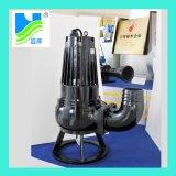 Impulsor de folha única as10-2W-CB, motor monofásico, dispositivo contra bloqueio Bomba de esgoto submersível