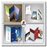 Qualitäts-glatten Kunstdruckpapier Werbung A4 Flyer Faltblätter plus