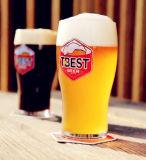 Cuvette créatrice personnalisée en verre de bière de cuvette de bière de modèle de logo
