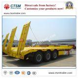 Aanhangwagen van de Vrachtwagen van het laag-Bed van het Vervoer van het graafwerktuig 80t de Semi