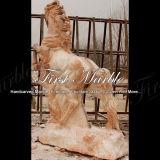 Cavalo claro vermelho animal Ma-321 de Ny do granito animal de pedra animal de mármore