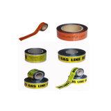 安全警告テープPEの印刷されるのために適したプラスチックバリケードの注意テープ