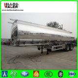 China 56000 Liter Aluminiumlegierung-Kraftstoff-Tanker-LKW-halb Schlussteil-für Verkauf