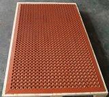 Gleitschutzdusche-Fußboden-Matte, Entwässerung-Küche-Matte, antibakterielle Gummimatte