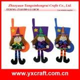 Decoração de Halloween da decoração da meia do traje de Halloween da decoração de Halloween (ZY4428-1-2-3-4)