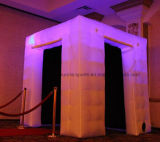 Cabine gonflable de photo de cube gonflable en cabine pour le mariage d'usager