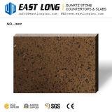 Quartzo Sparkling Polished Counterops de pedra para projetado/banheiro com material de construção de superfície contínuo