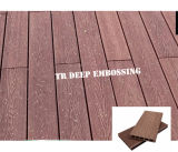 Decking Co-Sporto Anti-UV del rifornimento WPC