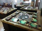 Tipo caliente rueda de producto del casino de la exportación de Trinidad And Tobago de ruleta del metal