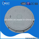 Standerd En124 Made in China Rubber Round Key Manhole Cover