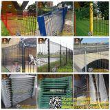 358防御フェンスの二重金網の鋼鉄庭の塀