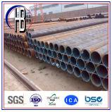 Tubo diritto dell'aggraffatura saldato ERW del tubo d'acciaio del carbonio