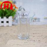 Mel de vidro /Jam do hexágono/frasco da especiaria/frasco de vidro