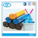 PE Plastic Biologisch afbreekbare Rekupereerbare Vuilniszak