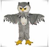 Costume superiore della mascotte del gufo di apparenza di Emulational