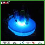 Vector que brilla intensamente con los vectores de cristal de la tapa LED del almacenaje