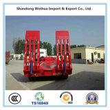 中国の製造者の3つの車軸が付いている半Lowbedのトラックのトレーラー