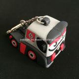 Porte-clés mignon de luxe PVC 3D de haute qualité pour la promotion