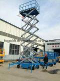 12m beweglicher elektrischer hydraulischer Plattform-Aufzug