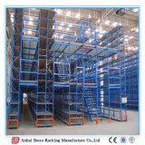 Регулируемая платформа работы, Metal мезонин хранения Китая регулируемой полки