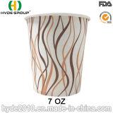 Taza de papel modificada para requisitos particulares del café caliente 7oz (7oz-9)