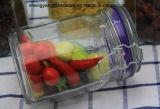 [4بك] [دودكغن] زجاجيّة طعام تخزين ثبت مرطبان مع غطاء زجاجيّة