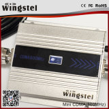 mini CDMA 850MHz répéteur de signal de portable de 100m2 13dBm avec l'affichage à cristaux liquides