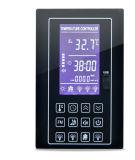 Prix de panneau de contrôle de température ambiante de vapeur de sauna avec l'écran LCD bleu de bande