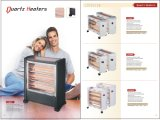 Quartz Heater 5, 000 Heures Lifespan Infrared Warm Heater