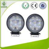 luz del trabajo de 10-30V 27W 9PCS LED