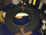 1 ou 2 tranças da mangueira R17 hidráulica de borracha de aço de alta elasticidade do SAE 100 do fio