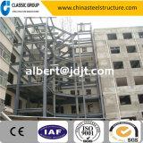 Einfache Montage-Stahlkonstruktion-Treppe/Treppenhaus mit Entwurf