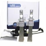O diodo emissor de luz da Philips lasca o farol do carro da alta qualidade 5s H7 de 25W 4000lm/auto farol 6500k