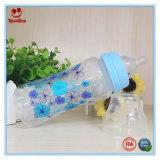 Plastiksäuglings8oz/10oz milchflasche mit Drucken