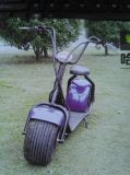 """""""trotinette"""" elétrico da roda do """"trotinette"""" um do balanço do auto do """"trotinette"""" de Harley"""