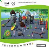 El patio al aire libre de la aventura de los niños prehistóricos de tamaño mediano de la serie de Kaiqi fijó (KQ300009B)