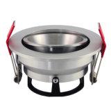 Proyector ahuecado inclinación redonda del aluminio GU10 MR16 LED del torno (LT2204B)