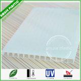 Folha plástica do telhado da cavidade do policarbonato (PC) da Gêmeo-Parede do material de construção de Bayer