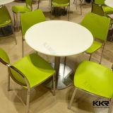 Insiemi quadrati della Tabella pranzante di banchetto del ristorante degli alimenti a rapida preparazione