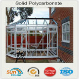 10mm Clear Solid Polycarbonate Sheet