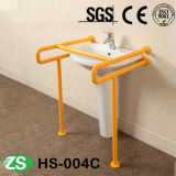 Aço inoxidável do banheiro do toalete e barras de garra deDobramento Handicapped de nylon