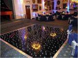 結婚披露宴のイベントのための最も新しいワイヤーで縛られた無線LEDのダンス・フロアLEDのStarlitきらめくダンス・フロア