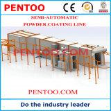 Línea de capa del polvo de la alta calidad 2016 para el área industrial